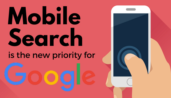 Google Mobile first search