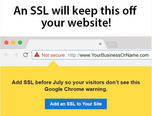 You don't want to go without SSL much longer!