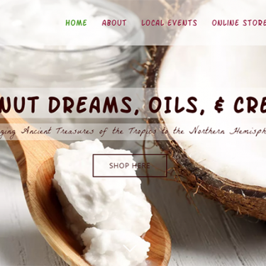Coconut Dreams Oils & Creams